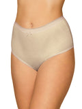 Martina 5 Pack Pure Cotton High Rise Full Briefs Nude