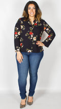Alice Long Sleeve Floral Shirt