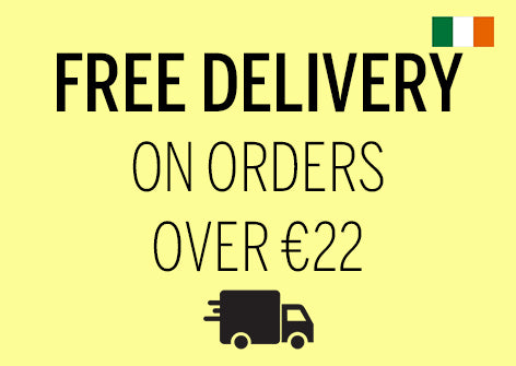 Free delivery on over 22eur