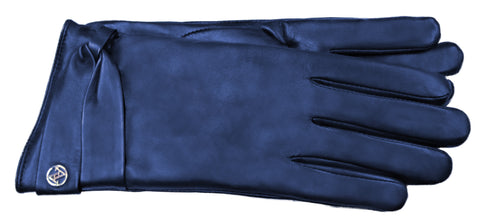 Adrienne Vittadini Glacé Leather Glove with Micropile Lining - AV040