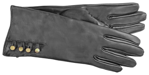 Adrienne Vittadini Glacé Leather Glove with Poly Tricot Lining - AV146