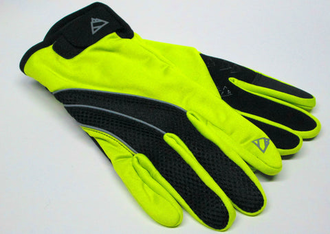 Men's Edge Sport 4-Way Stretch Softshell Gloves with Poly Tricot Lining and Touch Fingers - EG088