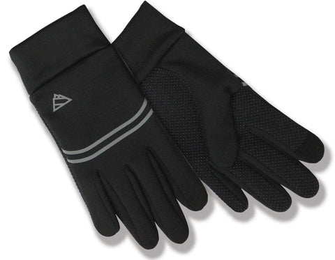 Men's Edge Sport 4-Way Stretch Softshell Gloves with Poly Tricot Lining and Touch Fingers - EG092