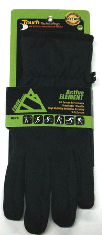 Men's Edge Sport Hard Fleece Gloves with Touch Fingers - EG160