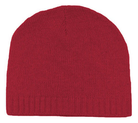100% Cashmere Knit Hat - H3281