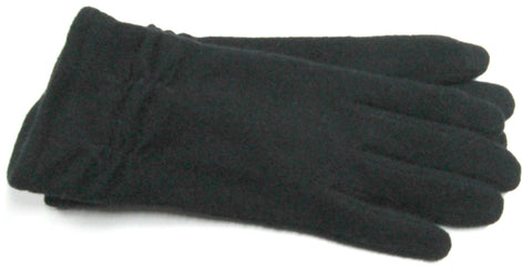 Women's wool blend gloves