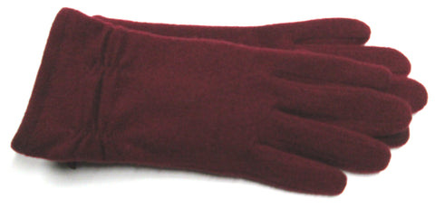 Women's Wool Blend Gloves with Poly Tricot Lining and Touch Fingers - L4033