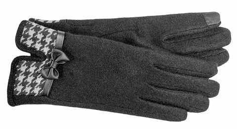Women's Wool Blend Gloves with Poly Tricot Lining and Touch Technology - L4137