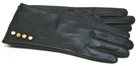 Women's gloves with buttons