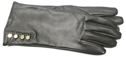 Women's Glace Leather Gloves with 100% Cashmere lining - W4230
