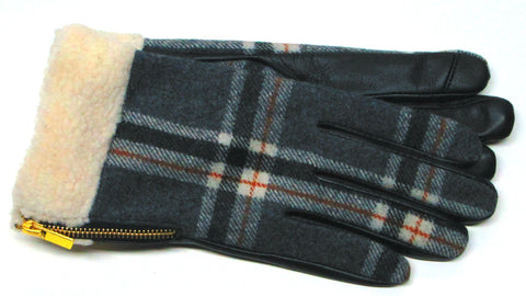 Women's Gloves with zipper