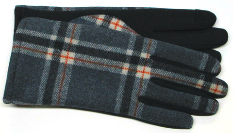 Women's Fabric and Soft-shell Gloves with Poly Tricot Lining and Touch Fingers
