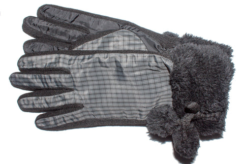 Women's Gloves 100% Polyester with Acrylic Knit Sidewalls, Poly Tricot Lining and Thermolite® Insulation - L4540