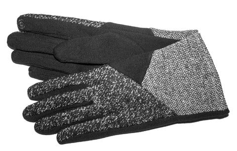 Women's Fashion Fleece, Self Lined Gloves with Touch Fingers