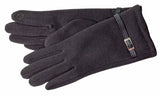 Women's Self Lined Fashion Fleece Gloves with Touch Screen Technology - L4741