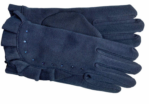 Women's Self Lined Fashion Fleece Gloves - L4821