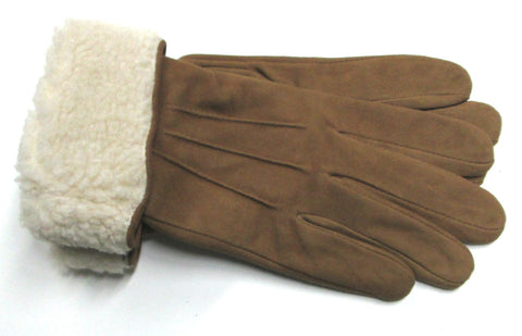 Women's Sheepsuede Gloves with Poly Tricot lining - W6740