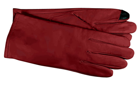 Women's Glace Leather with ThinsulateTM Insulation and Touch Fingers - L6912