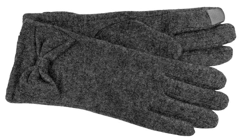 Women's Wool Blend Gloves with Poly Tricot Lining and Touch Technology - L6936