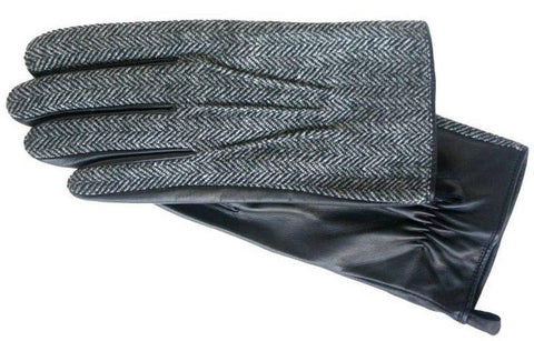 Men's Glacé leather palm Gloves with Acrylic Knit Lining