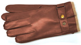 Men's Glacé Leather Gloves with 100% Cashmere lining - G7073