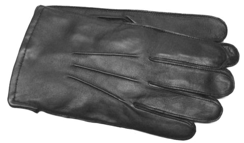 Men's Glace Leather Gloves with 100% Cashmere Lining - M7154