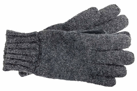 Men's Raggwool Knit Gloves with Fleece Lining - M7292