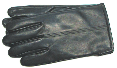 Men's Glace Leather gloves with Micropile lining