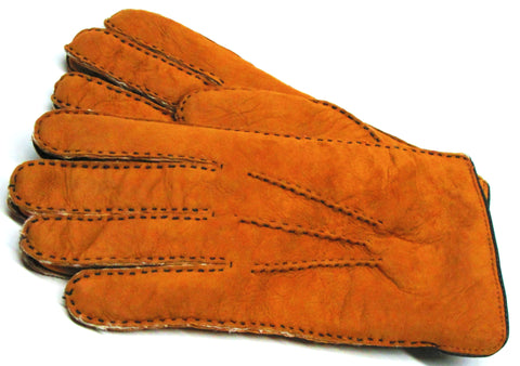 Men's Shearling self lined gloves