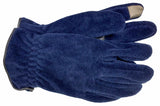 Men's Unlined Fleece Gloves with Touch Screen Technology - M7604