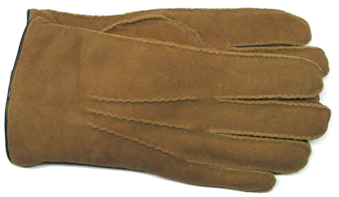 Men's Goat Suede Gloves with Micropile Lining - M7872