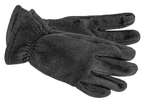 Men's Self Lined Polyester Fleece Gloves with Touch Technology - M9072