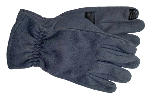 Men's Self Lined Polyester Fleece Gloves with Touch Technology - M9073