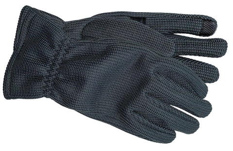 Men's Self Lined Polyester Fleece Gloves with Touch Technology - M9074