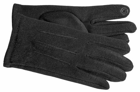 Men's Self Lined Fashion Fleece Gloves with Touch Technology - M9078