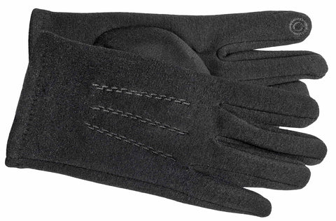 Men's Self Lined Fashion Fleece Gloves with Touch Technology - M9079