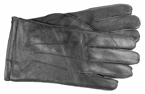 Men's Goatskin Gloves with Brushed Polyester Lining - M9116
