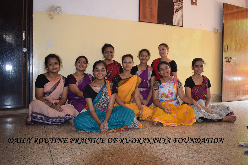 odissi Dance/Daily Routine Practice/Rudrakshya Foundation