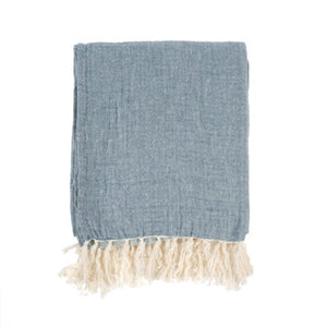Nantucket Throw - Blue