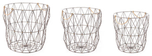 Wire Baskets - Set of 3