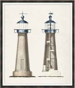 "Lighthouse I - 28"" x 33"""