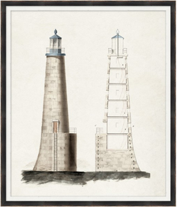 "Lighthouse II - 28"" x 33"""