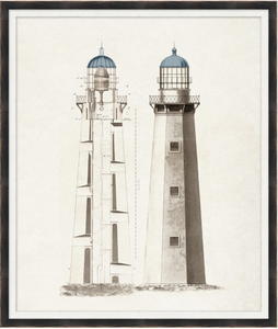 "Lighthouse III - 28"" x 33"""
