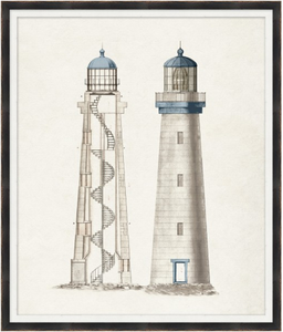 "Lighthouse IV - 28"" x 33"""