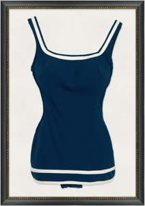 "Vintage Swimsuit II - 21"" x 30"""