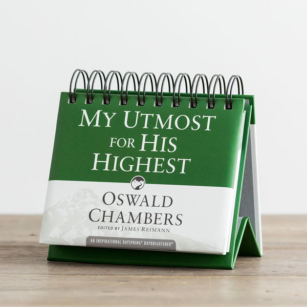 My Utmost For His Highest: Perpetual Calendar