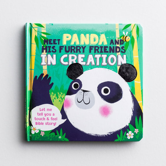 Meet Panda and His Furry Friends- Touch 'N' Feel Board Book