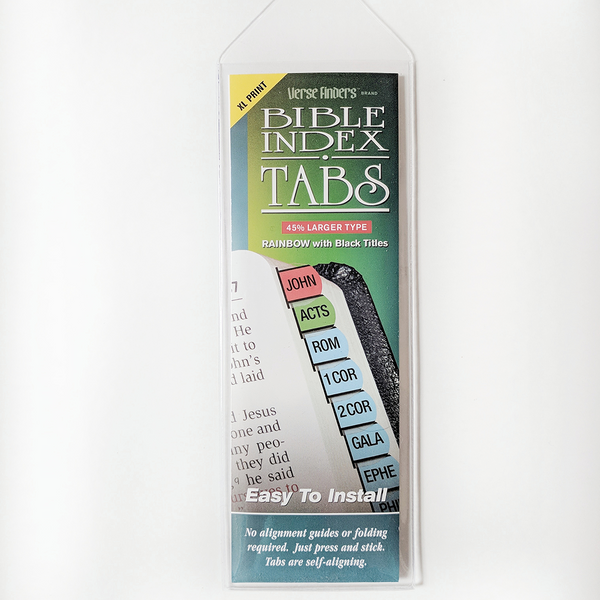 Rainbow Bible Tabs