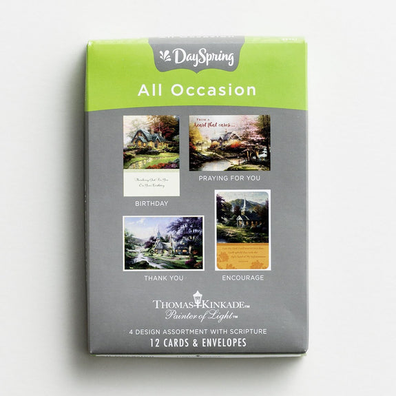 Thomas Kinkade All Occasion Boxed Cards