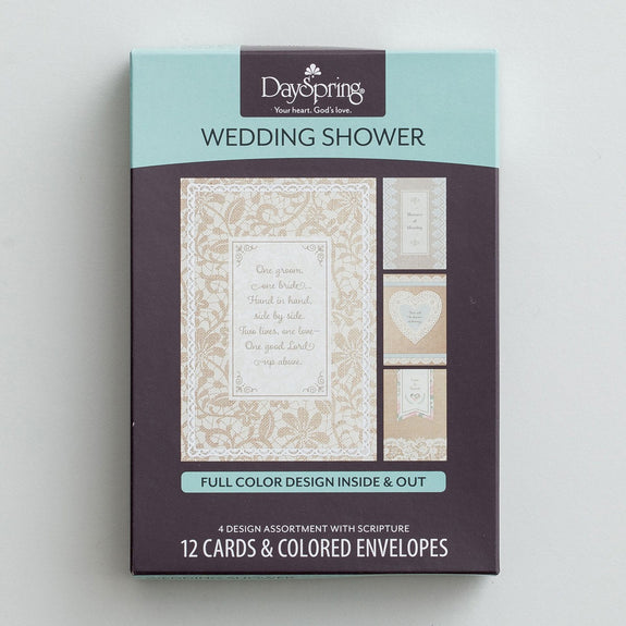 Wedding Shower Boxed Cards